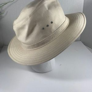 Panama Jack Canvas Safari Hat XL